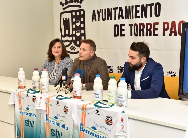 Presentación de El Barranquillo como Patrocinador del equipo filial de STV Roldán