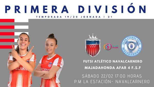 Emisiones en Directo del Fútbol Sala Femenino. 1ª División. Jornada 21ª