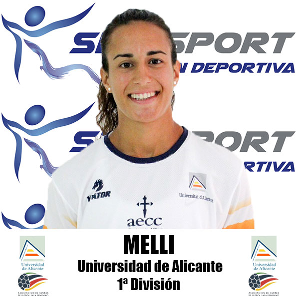 """María Ángeles Pino """"Melli"""" (Jugadora de Universidad de Alicante FSF)"""