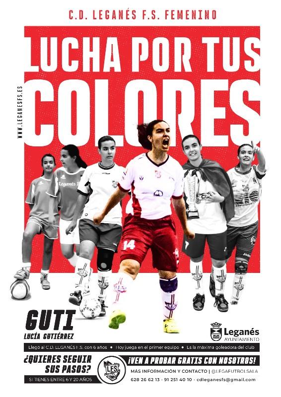 C.D. Leganés F.S. lanza su campaña de captación de jugadoras para la próxima temporada