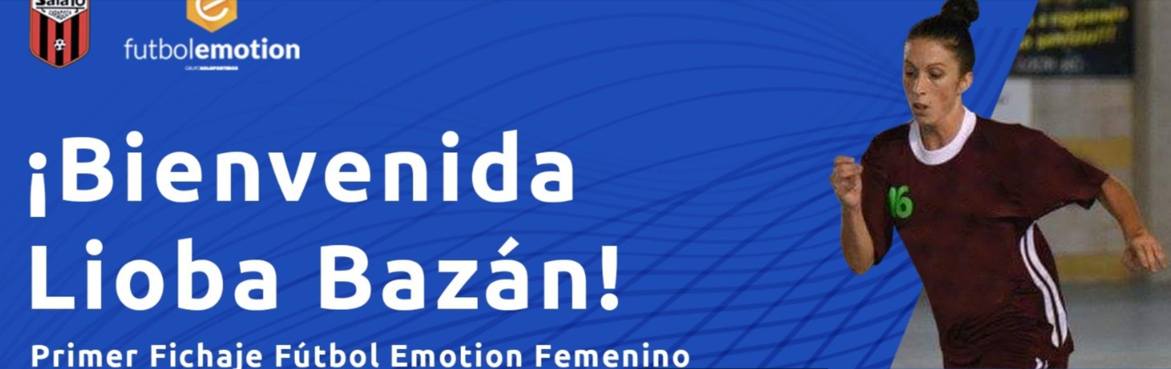 Principio de acuerdo con Lioba Bazán para que lidere al Fútbol Emotion Zaragoza