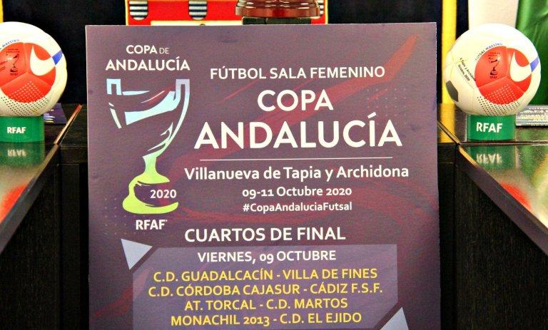 Presentada La Copa de Andalucía de Fútbol Sala Femenino que se celebrará del 9 al 11 de Octubre