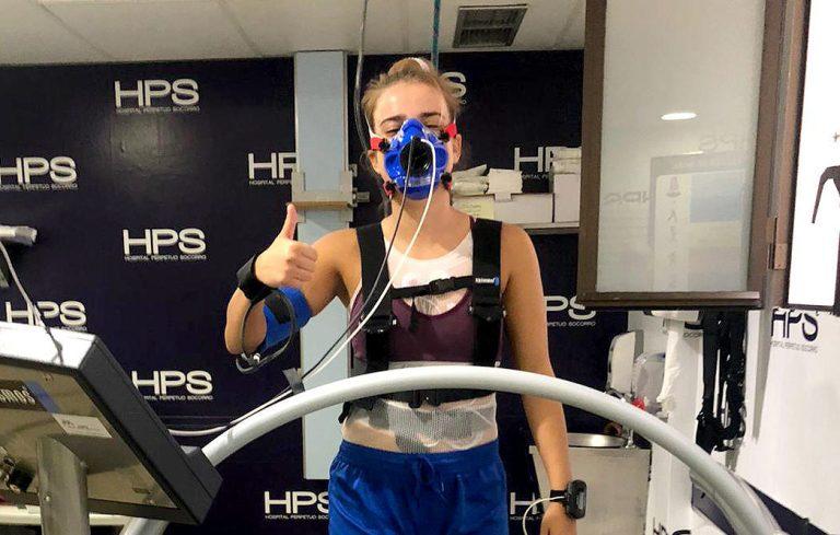 La Plantilla de Teldeportivo se realizó pruebas de esfuerzo en Hospital Perpetuo Socorro