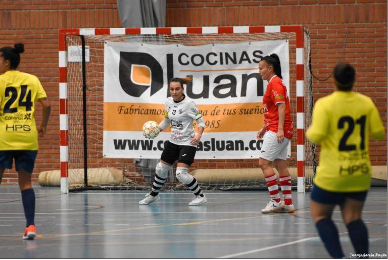 """Lola (Portera de Colme Futsal): """"Las armas del Colme son las de siempre, trabajo y mucha ilusión"""""""