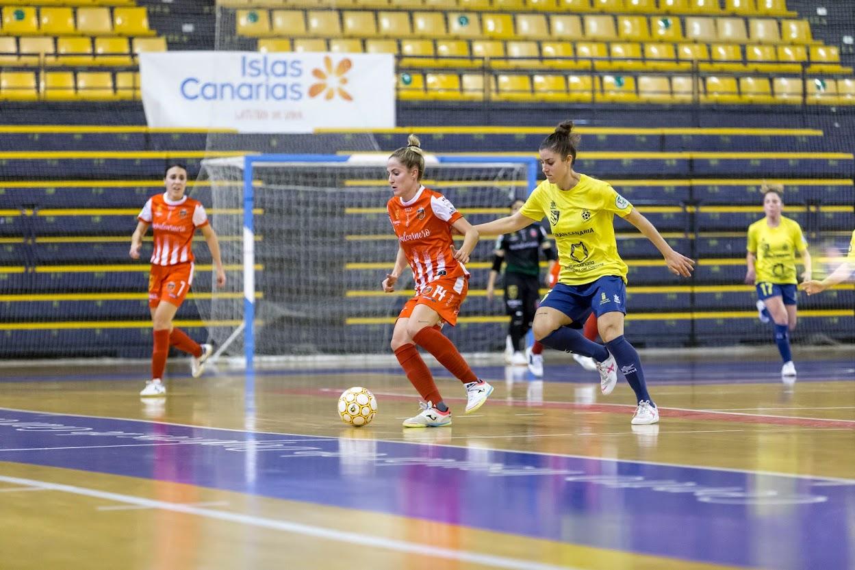 """Gallegos (Jugadora de Gran Canaria Teldeportivo): """"Seremos capaces de darle la vuelta a todo esto"""""""