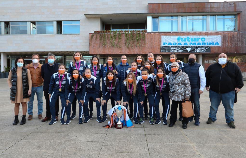Parte del equipo naranja femenino continuará en confinamiento