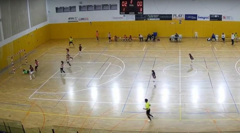 Crónica del Partido: AE Penya Esplugues - CEF Hispanic Valencia Esport