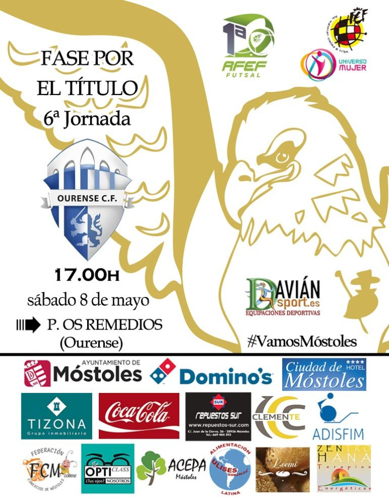 Previa del Partido: Ourense Envialia - FSF Móstoles