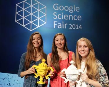 Ganadoras de la feria de ciencias de google 2014