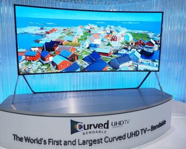 Primer televisor que se curva a peticion del usuario