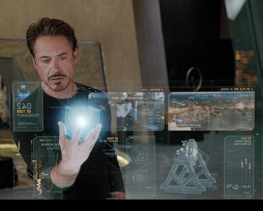 Computadora Haptica de Tony Stark