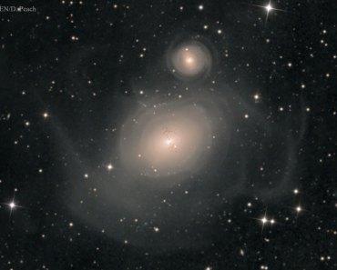 NGC 1316: Después de la colisión de galaxias