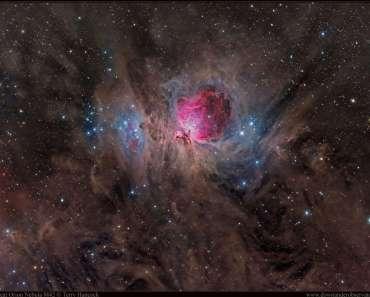 La grandiosa nebulosa de Orión M42