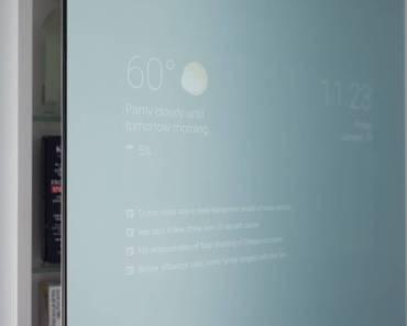Este ingeniero hizo un Espejo Inteligente solo porque puede