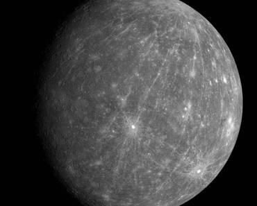 mercurio como lo revela mesenger