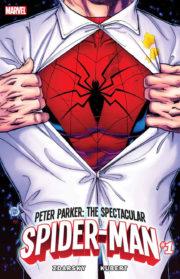 Portada de The Spectacular Spider-Man #1