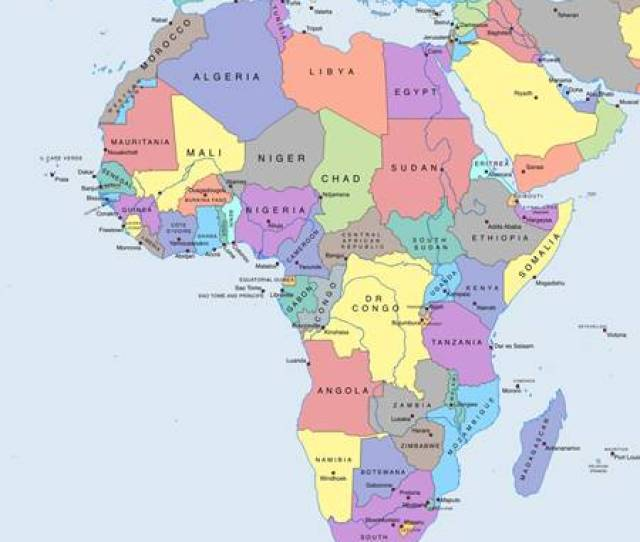 Nama Negara Di Benua Afrika Beserta Ibukota Dan Mata Uangnya