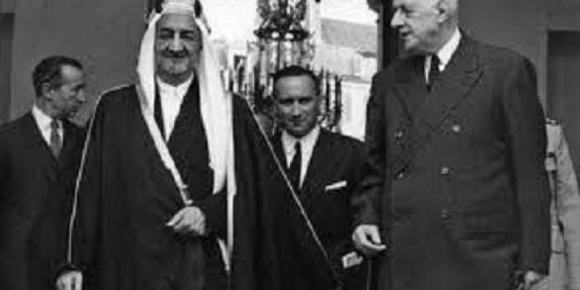 Raja Faisal Skakmat Presiden Prancis Charles de Gaulle Soal Palestina