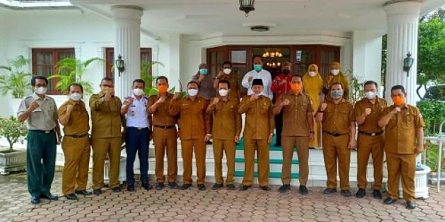 Walikota Tebingtinggi terima kunjungan kerja Plt Walikota Tanjungbalai
