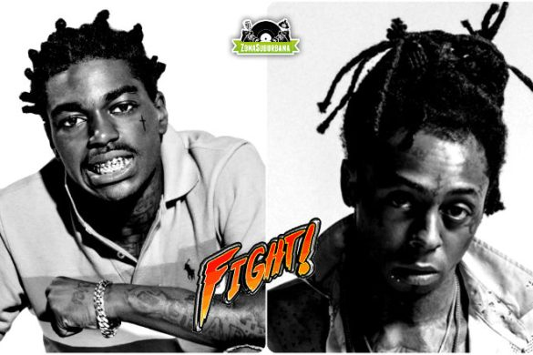 Kodak Black quer bater em Lil Wayne, inspirado na luta entre Chris Brown e Soulja Boy