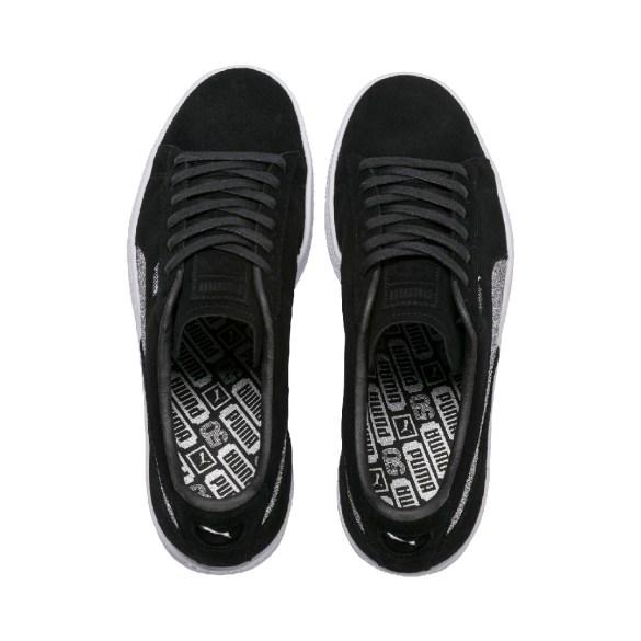 PUMA e Swarovski lançam o Suede mais brilhante entre as comemorações de 50 anos do sneaker
