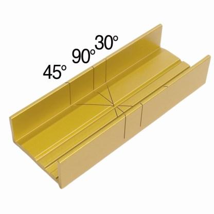 37 240 - Aluminum Miter Box and Fine Kerf Saw - 35-241  Aluminum Miter Box and Fine Kerf Saw - 35-241 - zona-razor-saws-razor-saw, razor-saw-sets, razor-saws-miter-boxes, miter-boxes-and-razor-saw-sets, miter-boxes-mitre-box-sets