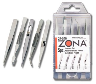 37 540tweezer pkg - 37-540 5-piece Tweezers Set  37-540 5-piece Tweezers Set - fine-points-tweezer-and-pliers, hand-tools