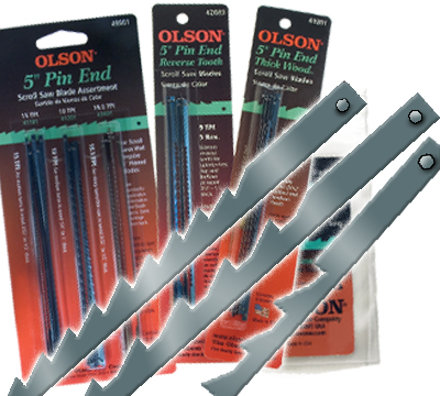 Pin end doz - 5″ Pin End Blades 12-pack  5″ Pin End Blades 12-pack - olson-pin-end-scroll-saw-blades