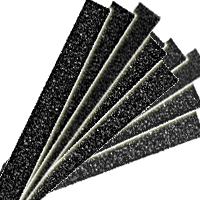 "1/2"" Wide Sanding Strips 10-Packs"