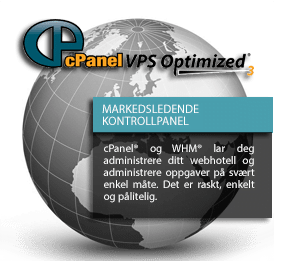 webhotell cpanel