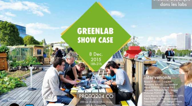 Greenlab showcase au PROTO204 Paris-Saclay