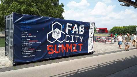 Fab City Campus 2018 à la Villette à Paris