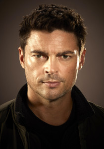 ALMOST HUMAN: Executive-produced by Emmy Award winner J.J. Abrams and creator J.H. Wyman and starring Karl Urban, ALMOST HUMAN is a high-tech, high-stakes action drama set 35 years in the future, when police officers are partnered with highly evolved human-like androids. An unlikely partnership is forged when a part-machine cop (Urban) is forced to pair with a part-human robot (Ealy) as they fight crime and investigate a deeper cover-up in a futuristic new world. The high-tech, high-stakes action drama premieres late fall on FOX. ©2013 Fox Broadcasting Co. Cr: Kharen Hill/FOX