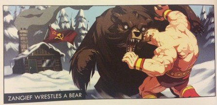 SFV Zangief bear