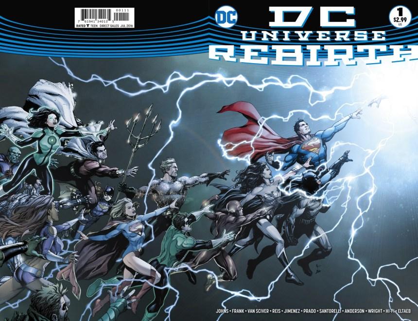 , DC: Rebirth #1 : Comic Review, Zone 6