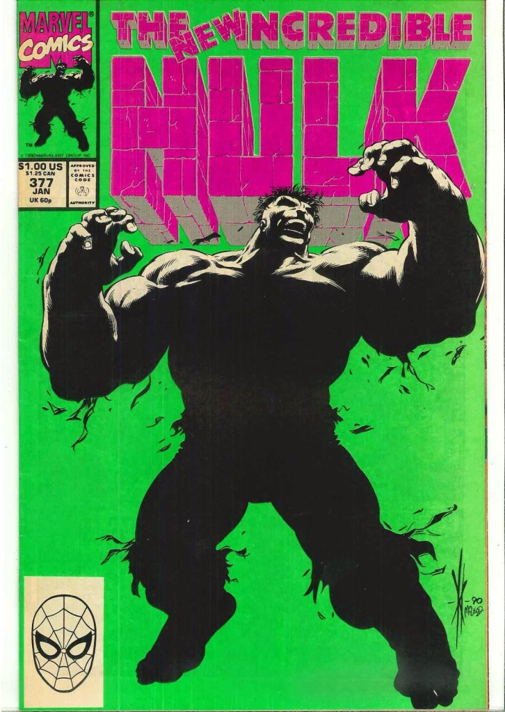Great Comic Book Covers- Feat: The Hulk, Zone 6