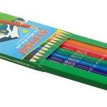 crayon couleur paquet ouvert