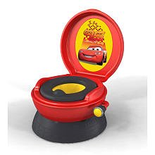 Pot de toilette musical cars Disney