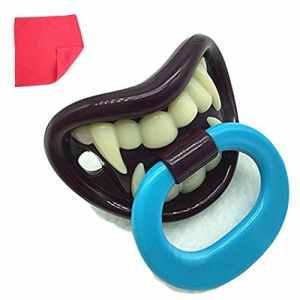 Imixcity® Drôle Factice Sucette Dents de Vampire