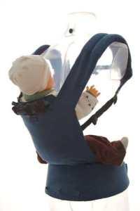 Patapum Baby Sac à dos Porte Enfant bleu