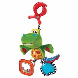PLAYGRO Jouet Nomade Snappy le Croco