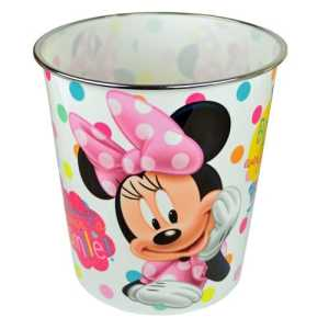 Disney Minnie Mouse Poubelle Trash enfants filles déchets Poubelle Chambre Home Enfant Peut New