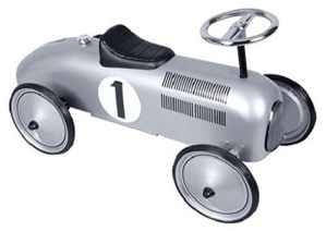 Schylling Silver Racecar Metal Speedster by Schylling