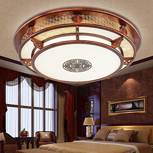 Moderne En Chinois Dksj Lampe Salon De Plafond Bois Ygyb6vIf7