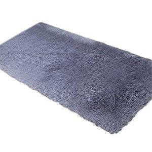 Cdet Style simple Couleur unie Tapis Antidérapant Absorbant en Polyester Tapis pour Décoration d'intérieur 1PC 40x60cm