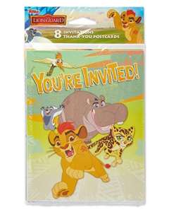 American Greetings Lion Guard Invite and Thank You Combo Pack