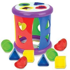 The Learning Journey Mon premier jeu de tri de formes, Multicolore