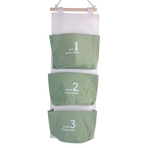 Sacs de rangement suspendus Poche murale Sacs de rangement suspendus Organisateurs /à poches pour lit
