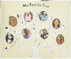 Hugs & Plus Family Tree Cadre photo (Or)