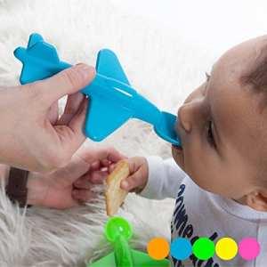 CDC – Cuillère Avion pour Enfant – bb_F1600042 – Orange